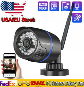 1080P Home Security Audio Record Wireless IP Camera Outdoor Onvif Night Vision