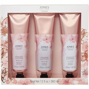 Jones New York Hand & Body Lotion Pieces(water lily, white tea and acai berry)