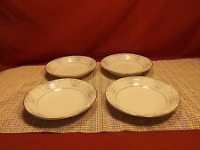 Fashion Royale China Heirloom M-5915 Pattern Set of 4 Fruit Bowls 5 1/2""