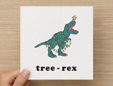 Tree Rex Funny Christmas Card