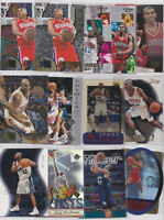 Jerry Stackhouse 18 Card Lot With Inserts Rookies NBA Basketball All Different