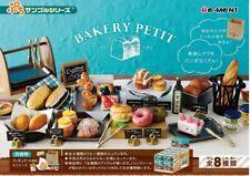 Re-ment Miniatures Petit Sample Bakery Shop Bread Shop complete Box set 8pcs