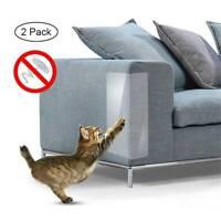 2x Cats Scratch Guard Mat Pet Cat Scratching Post Furniture Sofa Seat Protector
