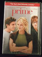 prime (DVD 2006 Widescreen) NEW PG-13 Romantic Comedy Meryl Streep Uma Thurman