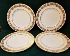 "4 Wedgwood 4001 Gold WHITEHALL 6"" Bread Plate  M39"