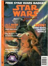 WoW! Star Wars Featuring Indiana Jones #7 / 2 x Star Wars Comics! Free Badge!