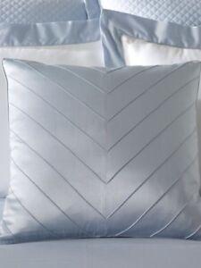 Ralph Lauren Ella Silk Deco Pillow Sapphire Blue Langdon $185