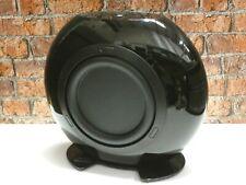 KEF HTB2 Gloss Black Active Powered Home Cinema Subwoofer Loudspeaker