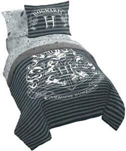 Harry Potter 7 Piece Queen Bed in a Bag Comforter & Sheet Set