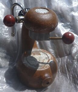 Rare Vintage ATOMIC COFFEE MACHINE ORANGE Model 1970's MILAN, Italy no reserve