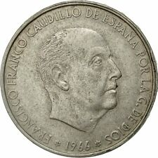 [#428447] Spagna, Caudillo and regent, 100 Pesetas, 1966, Madrid, BB, Argento