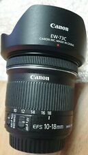 - Canon EF S 10-18mm f/4.5-5.6 IS STM WIDE ANGLE ZOOM LENS Nuovo di zecca