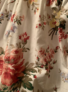 RALPH LAUREN Full Double MATRIMONIAL Allison Ruffle Bed Skirt 13.5 Drop Nice