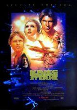 KRIEG DER STERNE  - Orig.Kino-Plakat A1 - Mark Hamill, Harrison Ford - Gerollt