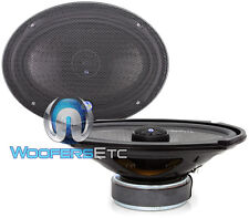 "CDT AUDIO HD-690CX 6x9"" CAR 2-WAY 1"" SILK TWEETERS CARBON FIBER COAXIAL SPEAKERS"