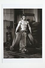 FRED WITH TIRES, 1984 by HERB RITTS  Art-Postcard  NEW