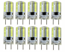 USA Shipping 10x G8 T5 Led bulb 3W Dimmable 64-3014SMD Silicone Lamp 6500K/110V