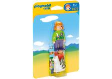 6975 playmobil 1 2 3 Femme avec Chat pour enfants à partir de 1½ Ans / 18 Monate