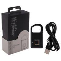 Smart Fingerprint Padlock Lock Biometric Padlock Lock P4 Finger Print SecuriV5D5