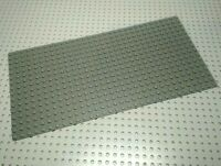 Lego Baseplate 16x32 [3857] Modern Dark Grey x1