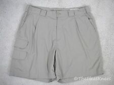 Orvis Beige Cargo 7 Pocket Shorts Men's Size 38 Reg