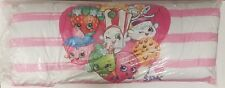 "Shopkins 20"" x 48""  Oversized Body Pillow 7 Characters Pink Back (I Heart SPK)"