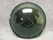 "(1) Kopp Glass 7-9/16"" Green Convex Lens Traffic Signal Or Theatre Light"