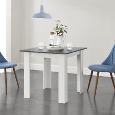B-WARE Esstisch Küchentisch Esszimmertisch Speisetisch Tisch Dunkelgrau 80x80cm