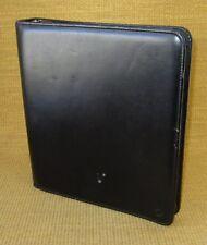 "Monarch 1.75"" Rings | BLACK Sim. Leather FRANKLIN COVEY ZIP Planner/Binder"
