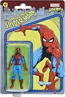 Spider-Man Hasbro Marvel Legends Series Retro 375 Collection Action Figure 3.75""