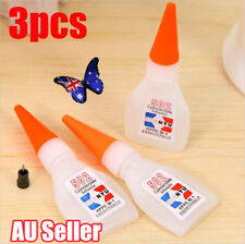 3pcs 502 Super Glue Instant Cyanoacrylate Adhesive Strong Bond Fast Repair Tool