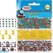 Thomas the Tank Engine Train 1st Birthday Confetti Bag Decoration Party Supplies