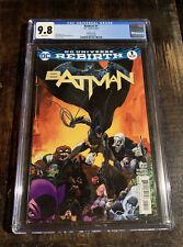 Batman 1 CGC 9.8!  Near Mint Condition! Rebirth! Series 3! ⭐️⭐️⭐️