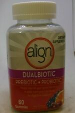Align DualBiotic Prebiotic + Probiotic Supplement, 60 Count, Digestive Support