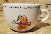 EUC Christmas Disney Winnie the Pooh Large Oversized Coffee Cup Mug Soup Bowl