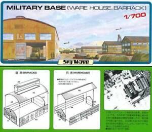 1/700 Pitroad Military Base (Barracks & Warehouse)