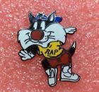 T05 Pins SYLVESTER THE CAT RAP TEX AVERY DEMONS & MERVEILLES Badge Lapel Pin