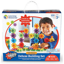 Learning Resources Gears! Gears! Gears! Beginners Building Set - 100 pcs