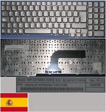 Clavier Qwerty Espagnol PB easynote ALP-AJAX MP-03756E0-5282 04GNLK1KSP00 Noir