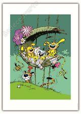 Affiche Franquin Le nid du Marsupilami 50x70 cm