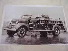 1940  DODGE FIRETRUCK HOWE PUMPER  11 X 17  PHOTO  PICTURE
