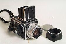 Hasselblad 500C 80mm F2.8, a12 back, wlf. kit.