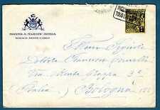 MONACO - 1924 - BUSTA- Destinazione Bologna.Principe Louis II. R684