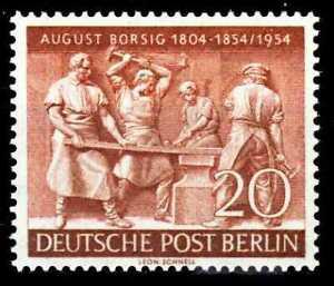 BERLIN 1954 Nr 125 postfrisch S1B7606