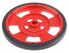 Red mobile robot wheel for servo motor