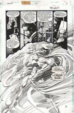 TOM MANDRAKE SIGNED 1994 SPECTRE SPLASH ORIGINAL ART -FREE SHIPPING!