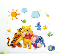 1 X Winnie the Pooh and Tigger children's room wall decorative wall stickers
