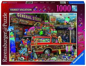 Ravensburger - Family Vacation 1000pc - Jigsaw Puzzle