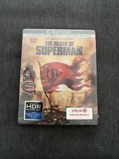 DCU: The Death of Superman (4K/UHD/Blu-ray) Target Exclusive Rare Steelbook