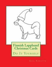 Finnish Lapphund Christmas Cards : Do It Yourself by Gail Forsyth (2015,.